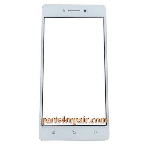 Front Glass for Oppo R7 -White