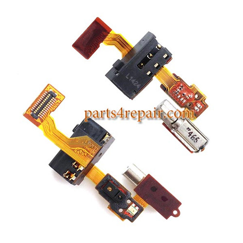 Earphone Jack Flex Cable for Huawei Honor 6 from www.parts4repair.com