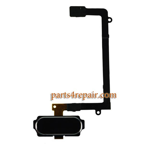 Homekey Flex Cable for Samsung Galaxy S6 Edge All Versions -Black