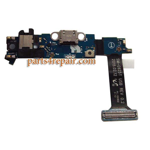 Dock Charging Flex Cable for Samsung Galaxy S6 Edge G925T from www.parts4repair.com