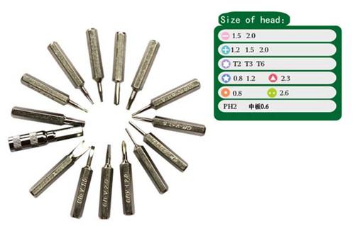 bst 8923 21 in 1 precision screwdrivers set opening tools parts4repair com. Black Bedroom Furniture Sets. Home Design Ideas