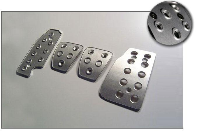 Aluminum Pedal Covers, S60/V70/S80 - ViVA Performance