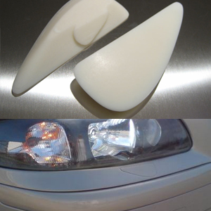 Headlight Wiper Plug Cover, S60R and V70R - ViVA Performance
