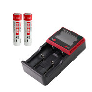 Bundle: MCC-2S Intelligent Charger  + 2*T3400 Batteries