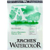 "Arches Watercolor Pad, 09 x 12"" CP"