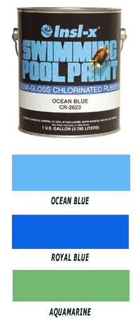 Insl X Pool Paint Ocean Blue