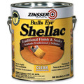 Zinsser Bulls Eye CLEAR Shellac  1 Gallon