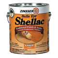 Zinsser Bulls Eye Amber (Orange) Shellac 1 Gallon