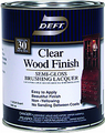 DEFT Clear Wood Finish Brushing Lacquer SEMI-GLOSS /1 Quart