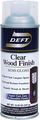 DEFT Clear Wood Finish Brushing Lacquer SEMI-GLOSS Spray Can 12.25oz.