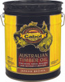 Cabot 3460 Jarrah Brown Australian Timber Oil Wood Finish 5 Gallons