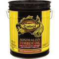 Cabot 3459 Mahogany Flame Australian Timber Oil Wood Finish 5 Gallons