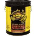 Cabot 3459 Mahogany Flame Australian Timber Oil Wood Finish 5 Gallons