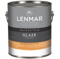 LENMAR QUICKSTAIN GLAZE QUART WHITE