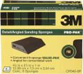 3M CP040-6P Angled Sanding Sponge Fine 6-Pk