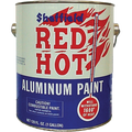 Sheffield Red Hot Aluminum Paint Quart