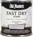 Old Masters 62516 .5Pt Fast Dry Stain Weathered Wood