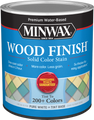 Minwax 10811 Qt White Tint Base Wood Finish Water-Based Solid Color Stain
