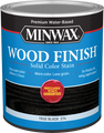 Minwax 10851 Qt True Black Wood Finish Water-Based Solid Color Stain