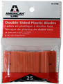 American Line 66-0706 Plastic Blades 25Pk