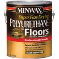 Minwax 13024 1G Semi Gloss Super Fast Dry Polyurethane For Floors 350 VOC