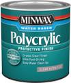 Minwax 21111 .5Pt Clear Ultra Flat Polycrylic Protective Finish