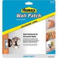 "Homax 5506 6"" x 6"" Metal Wall Patch w/ Self Adhesive Mesh"