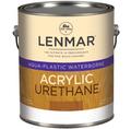Lenmar AquaPlastic Urethane Clear Coatings DULL FLAT Quart