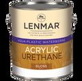 Lenmar AquaPlastic Urethane Clear Coatings SEMI-GLOSS Quart