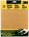 3M 9000NA Aluminum Oxide Sanding Sheets, 9 in x 11 in, 220 grit Very Fine, 5 Sheets/pk
