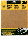 3M 9003NA Aluminum Oxide Sanding Sheets, 9 in x 11 in, 60 grit Coarse, 4 Sheets/pk