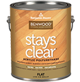 Benjamin Moore Stays Clear Flat 1 Gallon