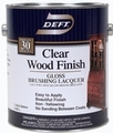 DEFT Clear Wood Finish Brushing Lacquer GLOSS/ 1 Gallon