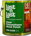 ABSOLUTE 51004 1 Quart SEMIGLOSS LAST N LAST POLYURETHANE WOOD FINISH