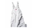 Dickies 8953 White Painters Bib Overall