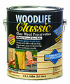 ZINSSER 00902  Quart Classic Clear Woodlife Wood Preservative