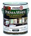 ZINSSER 02771 1G Eggshell Permawhite Mildew Proof Interior Paint