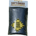 SoftKnees 1010 Black No Strap Knee Pad for Double Knee Pants (Pair)