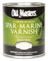 OLD MASTERS 92504 Semi Gloss Spar Marine Varnish Quart