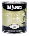 OLD MASTERS 42501 1G Dark Walnut Penetrating Stain 250 VOC