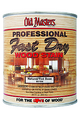 OLD MASTERS 60104 QT Natural Tint Base Fast Dry Wood Stain