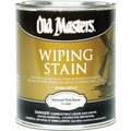 OLD MASTERS 11804 QT Dark Mahogany Wiping Stain 240 VOC