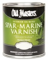 OLD MASTERS 92404 QT Gloss Oil Based Spar Marine Varnish