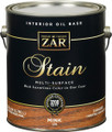 ZAR 128 Early American / Mink Wood Stain Gallon.