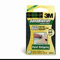 3M 60  Grit Sandblaster Sanding Blocks