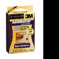 3M 80  Grit Sandblaster Sanding Blocks