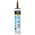 DAP  10.1OZ BROWN ALEX PLUS CAULK