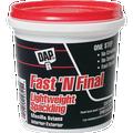 DAP LIGHTWEIGHT INTERIOR/EXTERIOR FAST N FINAL SPACKLING (1 PT)