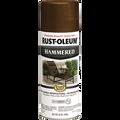 RUSTOLEUM  12OZ BROWN STOPS RUST HAMMERED METAL FINISH SPRAY