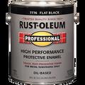 RUSTOLEUM  1G FLAT BLACK PROFESSIONAL OIL BASED ENAMELY